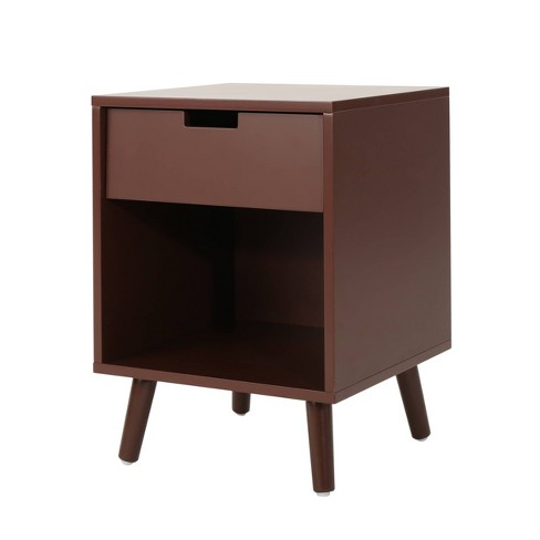 Ossian Modern Side Table Walnut - Christopher Knight Home - image 1 of 5