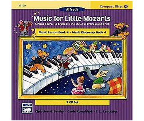 Music for Little Mozarts for Music Lesson Book 4 and Music Discovery Books 4 : A Piano Course to Bring - image 1 of 1