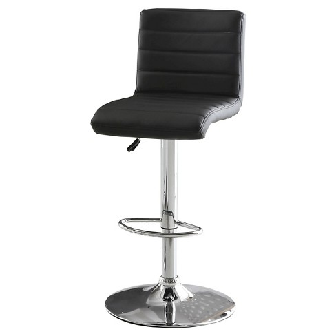 Jacob Adjustable Swivel Bar Stool - Furniture of America - image 1 of 3
