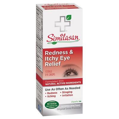 Similasan Redness & Itchy Eye Relief Eye Drops .33 fl oz