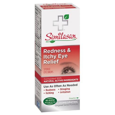 Similasan Redness & Itchy Eye Relief eye drop