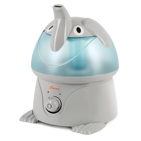 Crane Adorable Elephant Ultrasonic Cool Mist Humidifier - 1gal - image 1 of 4