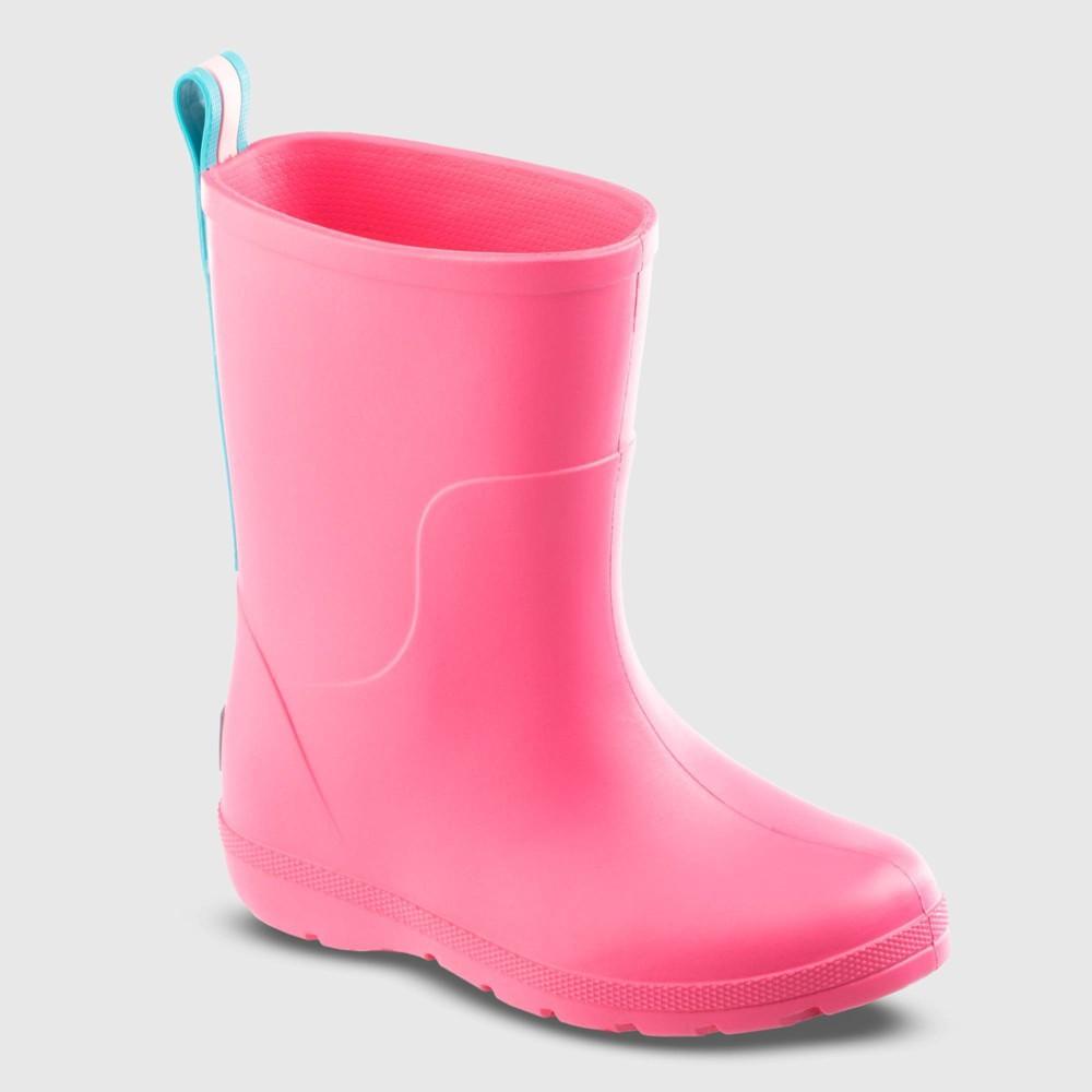 Kids Totes Cirrus Charley Rain Boots Pink 2 3