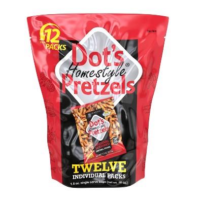 Dot's Homestyle Pretzels Multipack - 18oz