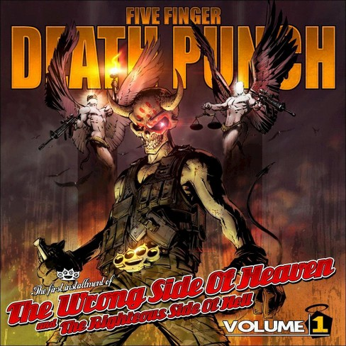 Five Finger Death Pu - Wrong Side Of Heaven/Righteous V1 (CD) - image 1 of 1