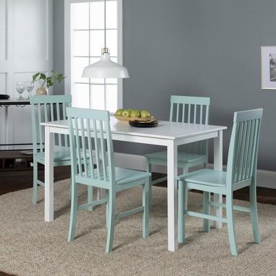 5pc Modern Two Tone Kitchen Dining Set - Saracina Home : Target