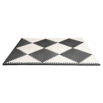Skip Hop Activity Playmat- Black/Cream