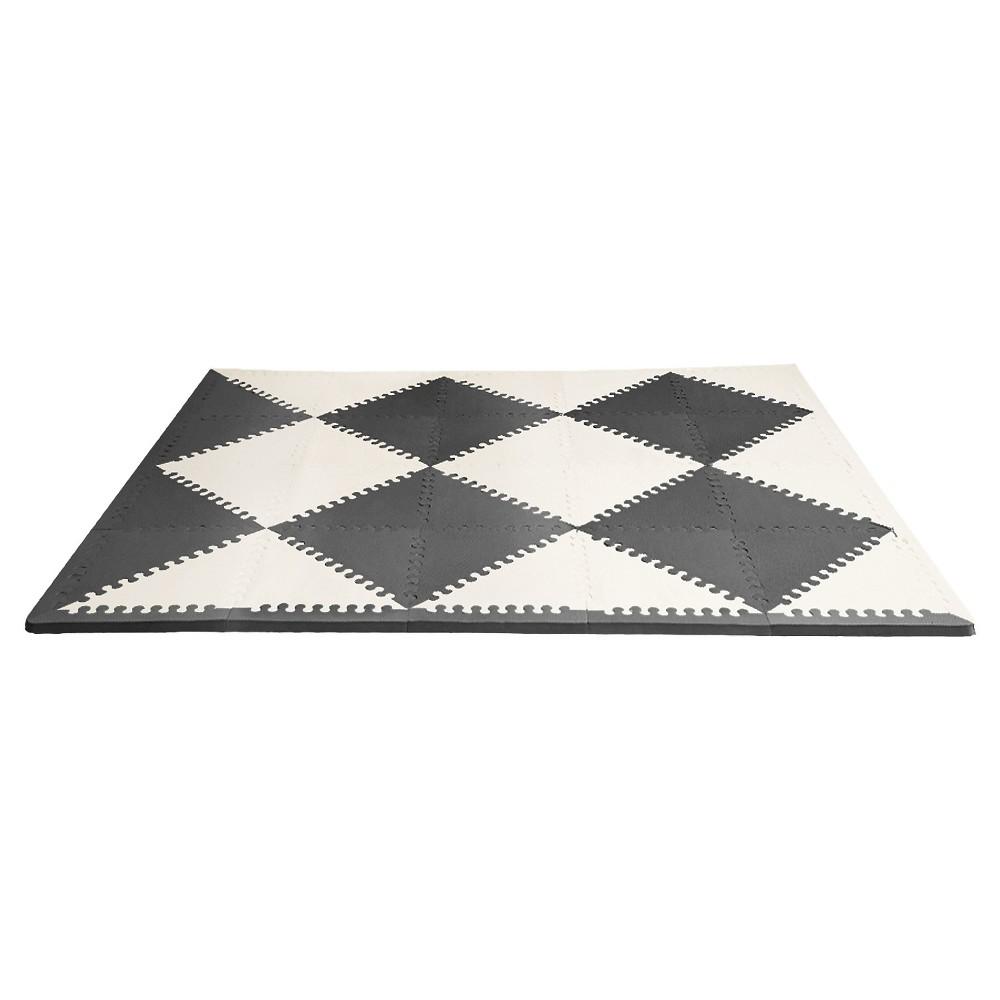 Skip Hop Activity Playmat- Black/Cream (Black/Ivory)