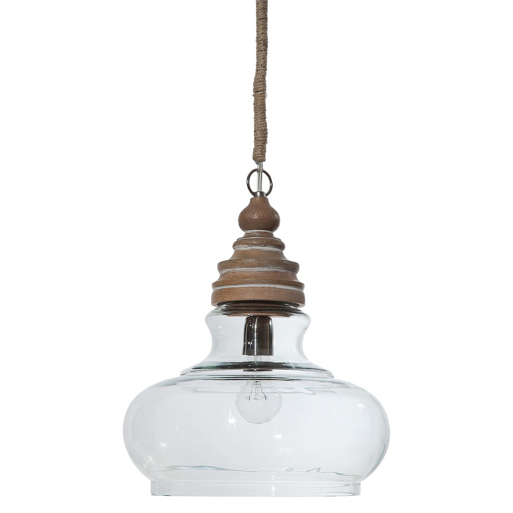 Best Price Adjustable Wood Pendant Lamp Natural