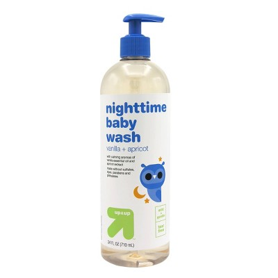 Nighttime Baby Wash with Vanilla & Apricot - 24 fl oz - Up&Up™