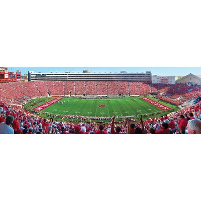 NCAA Wisconsin Badgers 1000pc Panoramic Puzzle