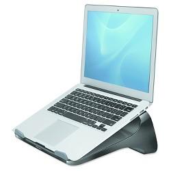 Fellowes® Laptop Riser, 13 3/16 x 9 5/16 x 4 1/8, Black/Gray