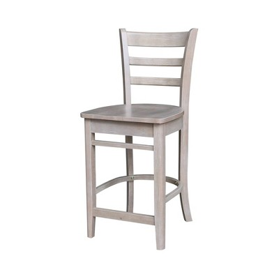 Emily Counter Height Barstool - International Concepts