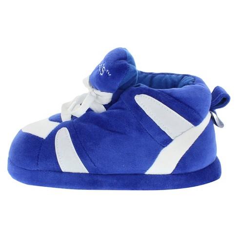 301a13524cc51 NCAA Kentucky Wildcats Adult Comfy Feet Sneaker Slippers - Blue White    Target