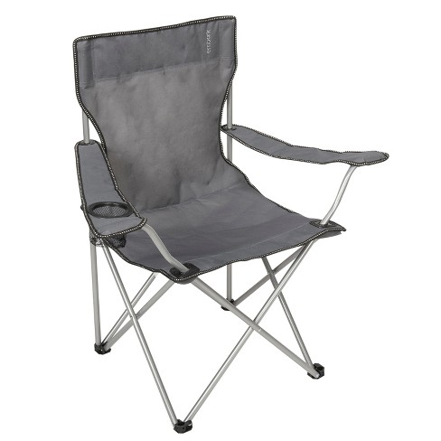 Basic Arm Chair with Carrying Case - Gray - Embark™ - image 1 of 3