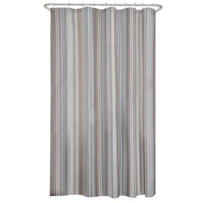 Jodie Striped Shower Curtain - Zenna Home