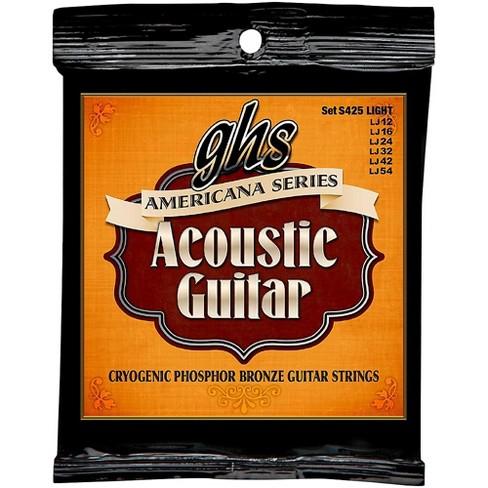 GHS Americana Light Acoustic Guitar Strings (12-54) - image 1 of 1