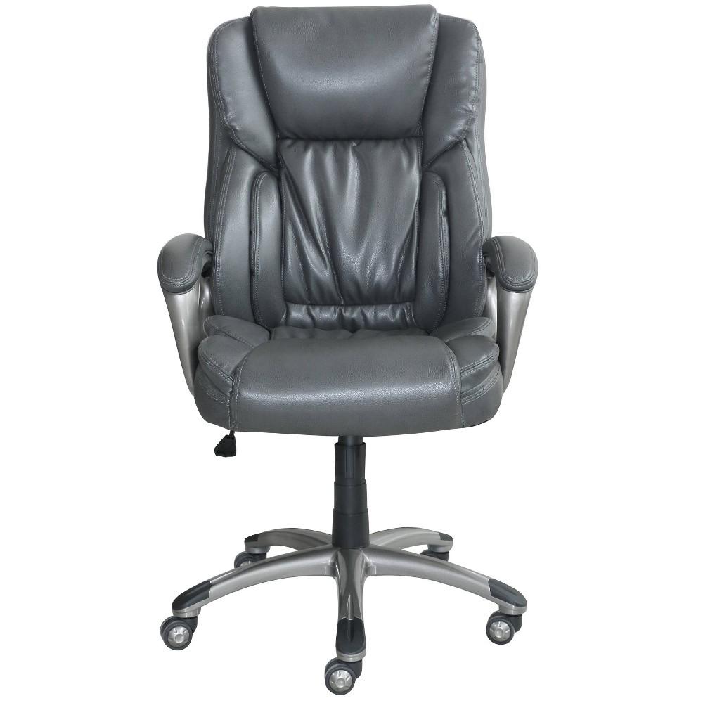 Image of Work Executive Office Chair Harvard Gray - Serta