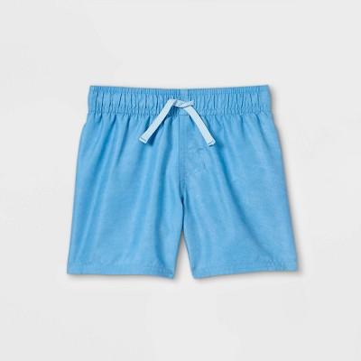 Toddler Boys' Swim Shorts - Cat & Jack™ Light Blue