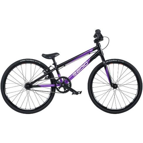 "Radio Xenon Mini BMX Race Bike - 17.5"" TT, Black/Metallic Purple - image 1 of 1"