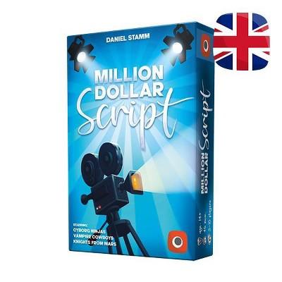 Million Dollar Script Board Game