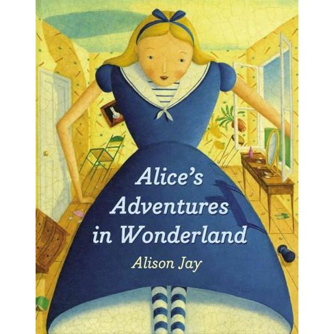 Alice's Adventures in Wonderland - by  Alison Jay (Board_book) - image 1 of 1