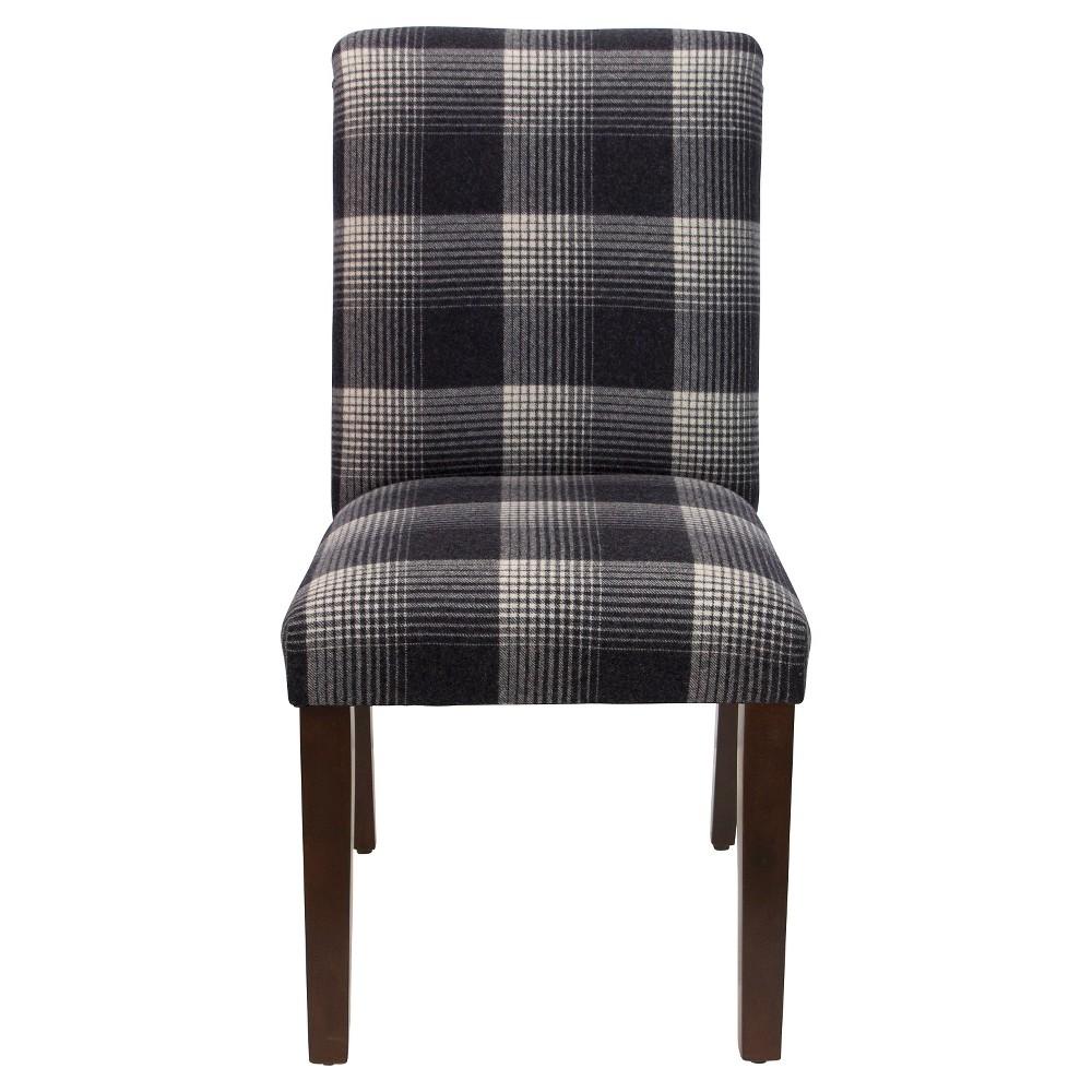 Printed Parsons Dining Chair Aberdeen Flint - Threshold, Gray