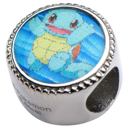 Pokémon™ Squirtle Water Drop Stainless Steel Bead Charm - image 1 of 2