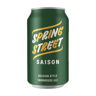Avondale Spring Street Saison Belgian-Style Farmhouse Ale Beer - 6pk/12 fl oz Cans