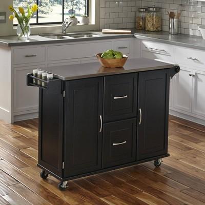 Patriot Kitchen Cart Black - Home Styles