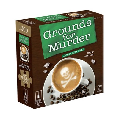 Bepuzzled Classic Mystery: Grounds for Murder Jigsaw Puzzle - 1000pc