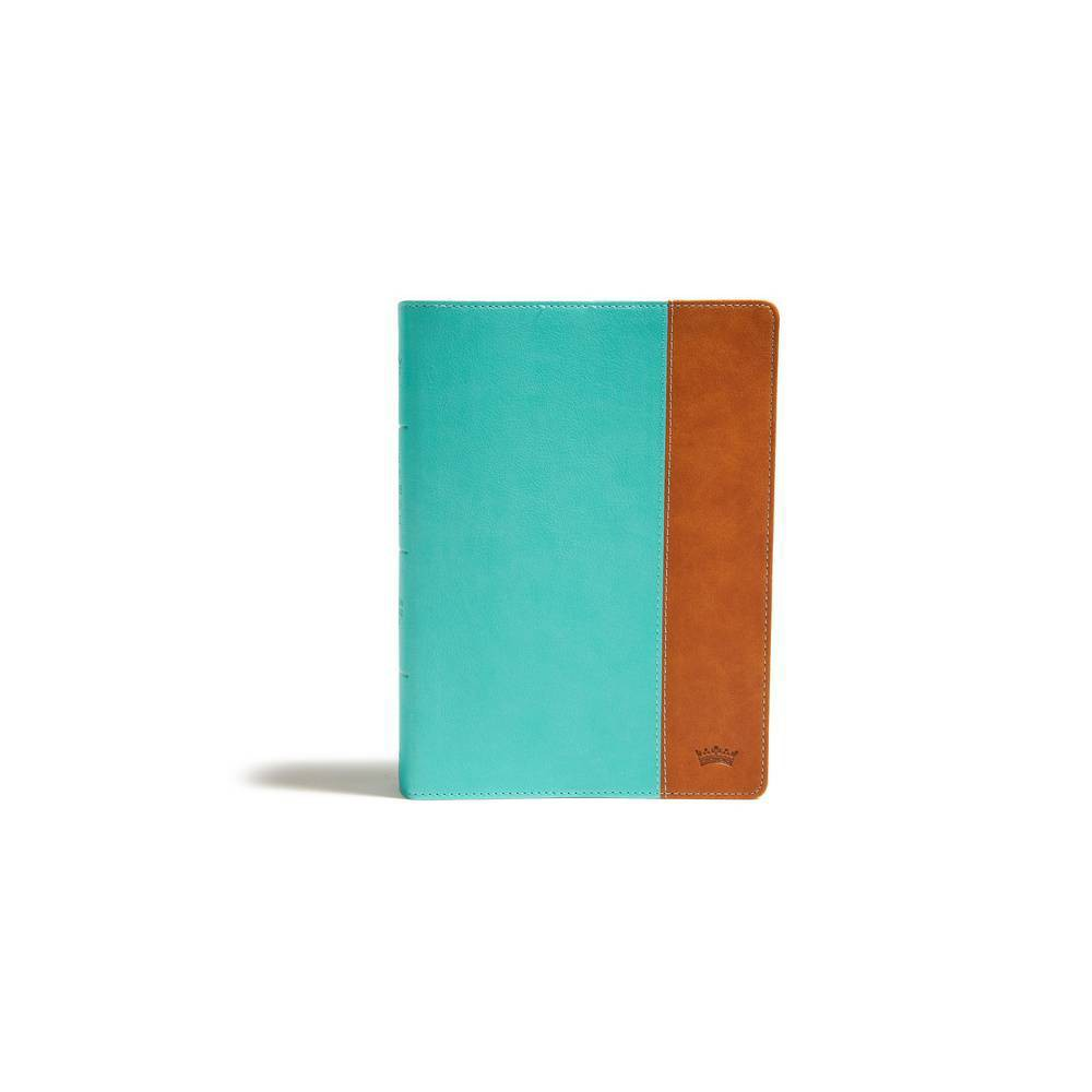 Csb Tony Evans Study Bible Teal Earth Leathertouch Indexed By Tony Evans Csb Bibles By Holman Leather Bound