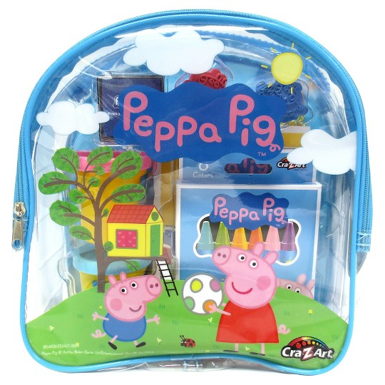 Peppa Pig Ultimate Activities Backpack - Colors May Vary image number null