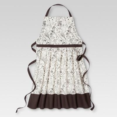 Coffee Veggie Kitchen Textiles Cooking Apron - Threshold™