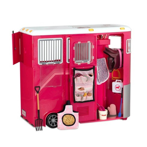 """Our Generation Mane Attraction Horse Trailer for 18"""" Dolls - image 1 of 4"""