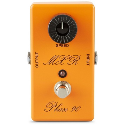 MXR Custom Shop CSP-101CL Script Logo Phase 90 with LED Guitar Effects Pedal