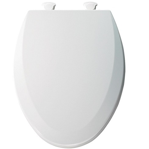 Fine Bemis 1500Ec Elongated Molded Wood Toilet Seat With Easy Clean Change Hinge Cotton White Pabps2019 Chair Design Images Pabps2019Com