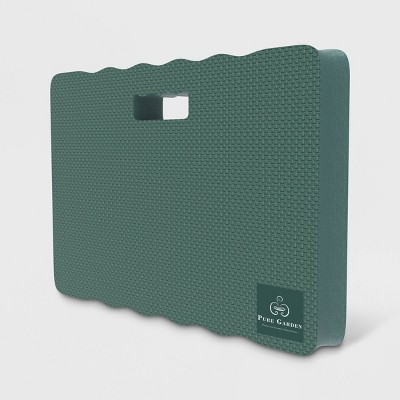 12  Multipurpose Kneeling Pad With Handle Green - Pure Garden