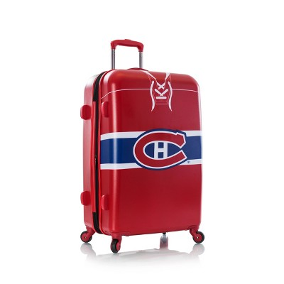 "NHL Montreal Canadiens 26"" Spinner Wheels Suitcase"