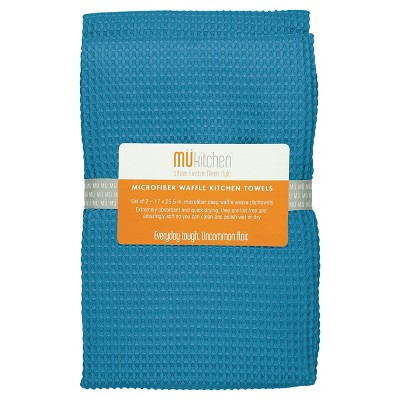 Waffle Microfiber Cloth (Set Of 2)- Mu Kitchen