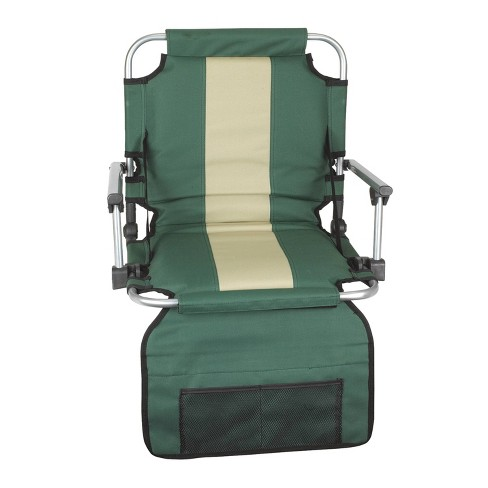 Stansport Folding Stadium Seat with Arms - Green - image 1 of 2