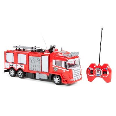 Fire Rescue Water Cannon Remote Control RC Fire Truck