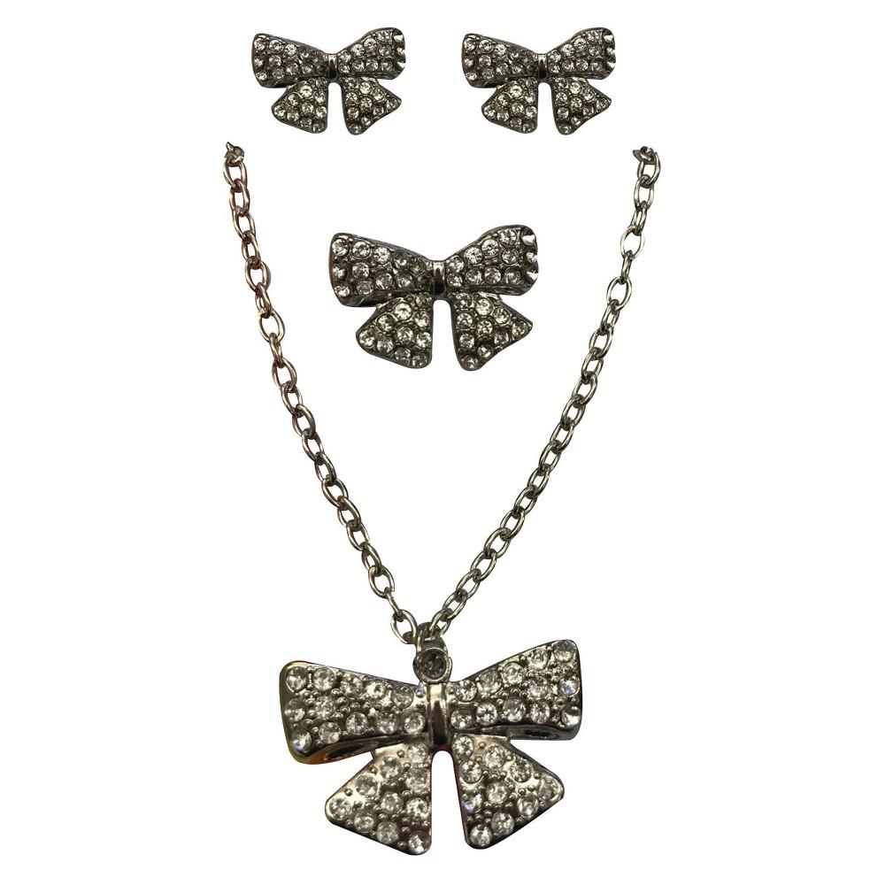 Girls' JoJo Siwa Jewellery Set, Light Silver