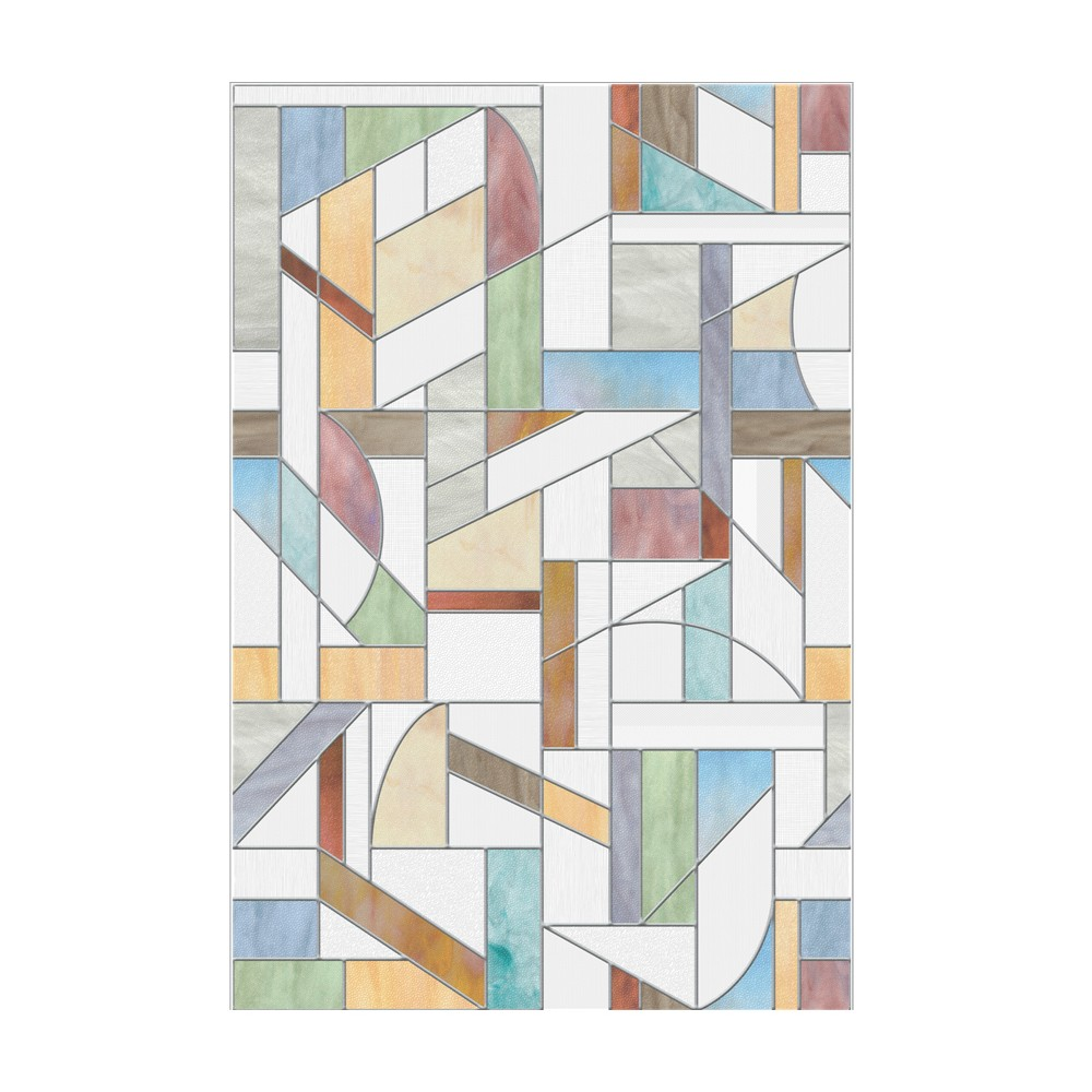 "Image of ""24""""x36"""" Avenue Window Film - Artscape, Multi-Colored"""