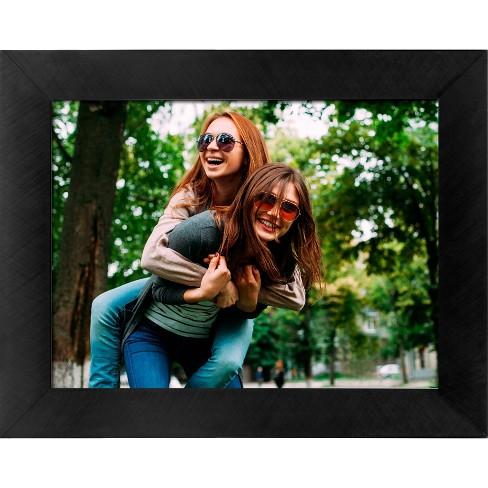 "8"" WiFi Digital Photo Frame Metal Black - Polaroid - image 1 of 4"