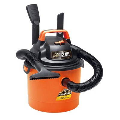 Armor All AA255 2.5gal Peak HP Wet/Dry Vacuum Cleaner Floor Care Appliances