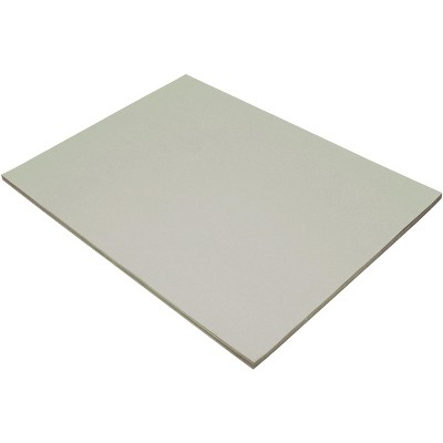 Tru-Ray Sulphite Construction Paper, 18 x 24 Inches, Gray, 50 Sheets