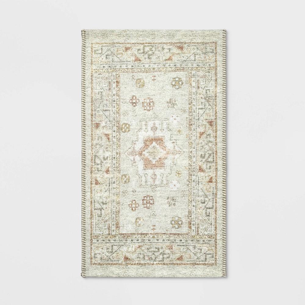 Natural Printed Persian Rug