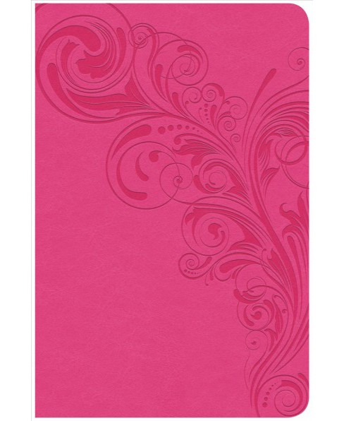 Holy Bible : Christian Standard Bible, Compact Ultrathin, Pink LeatherTouch (Paperback) - image 1 of 1