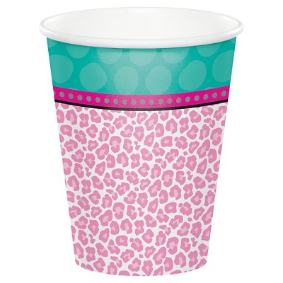 8ct Sparkle Spa Party Cups